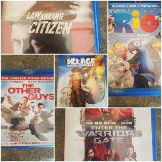 Blu Ray Movie Lot! Winner choses one
