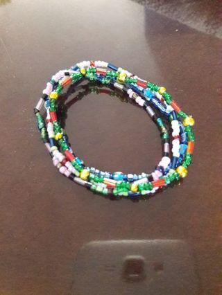 4 Beaded Handmade Small Bracelets