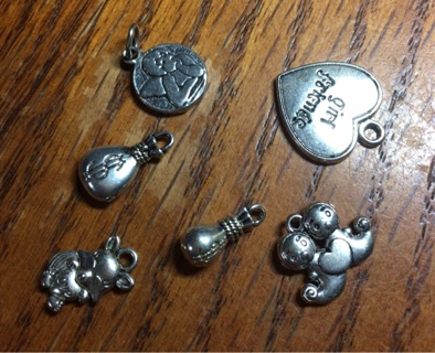 Assortment of charms