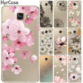 Sexy Floral Soft TPU Silicone Case Cover For Samsung Galaxy A3 A5 A7 2015 2016 2017 A6 A8 Plus A7