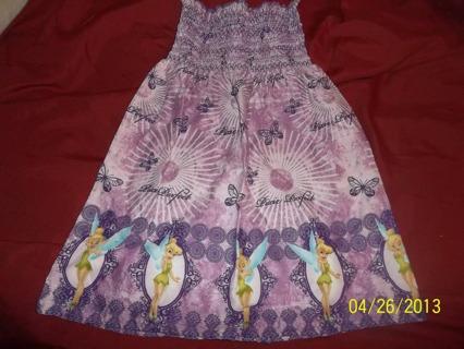 New Handmade Disney Tinkerbell Dress