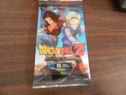 """COLLECTABLE """"DRAGONBALL Z""""  EVOLUTION pack of cards"""