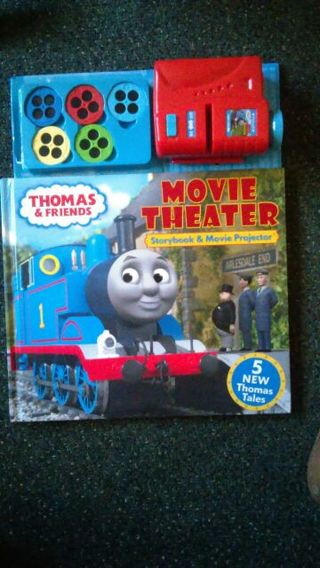 Thomas & Friends Movie Theater Storybook & Movie Projector