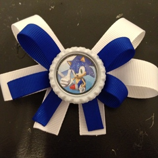 Free Sonic The Hedgehog Hair Bow Other Clothing Listia Com Auctions For Free Stuff