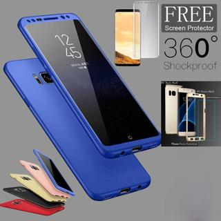 Shockproof 360° Full Body With Screen Protector Case Cover For Samsung Galaxy