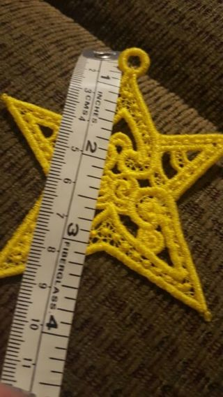 star free standing lace