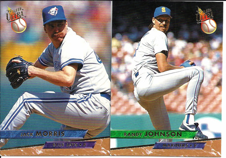 Free 1993 Fleer Ultra Baseball Cards Jack Morris Randy
