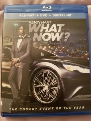 What Now Blue Ray and DVD Disc
