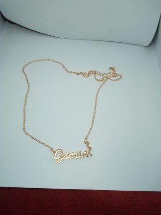 Gemini zodiac chain