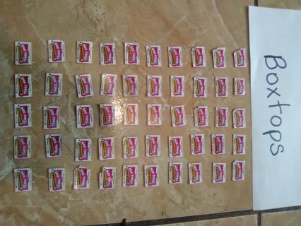 50 Boxtops For Education