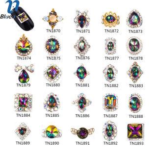 10pcs Nail DIY Alloy Crystal Rhinestone Charms Decoration TN1870-TN1893