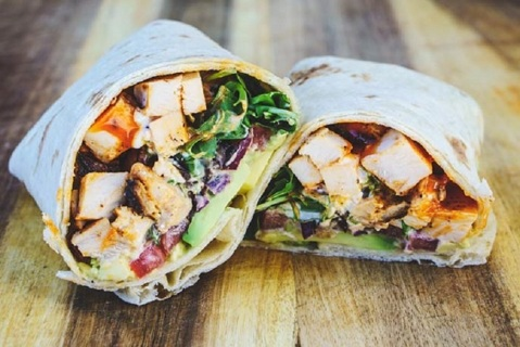❄ (New) Grilled Buffalo Chicken Wraps Recipe ❄