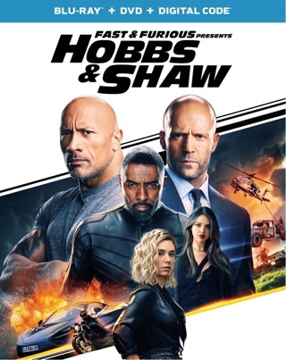 Hobbs and Shaw digital movie code from Blu Ray