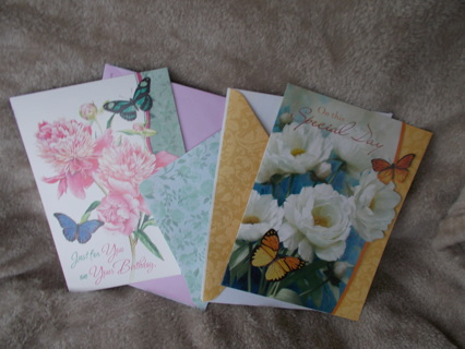 #6  2 Birthday cards