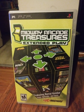 Midway Arcade Treasures Extended Play PSP