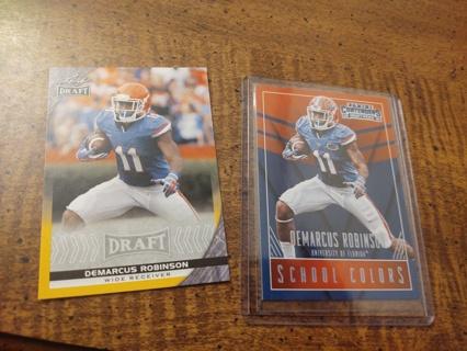 Two card lot football demarcus Robinson both rookies