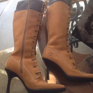Free  Womens Timberland High Heel Boots 6 1 2 - Shoes - Listia.com ... 550f67a36b