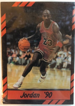 1990 Michael Jordan Career Highlights Card