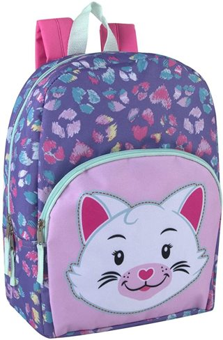 New Toddler Girls Small Backpack (Cat OR Unicorn).