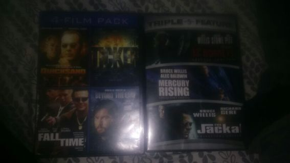 7 Action movies !