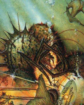 1996 Don Maitz Fantasy Art Trade Card: Claws