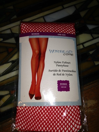 Red Fishnet Stockings, BNIP
