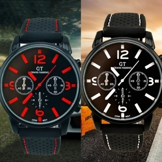 [GIN FOR FREE SHIPPING] Vogue Men Sport Watch Stainless Steel Analog Quartz Casual