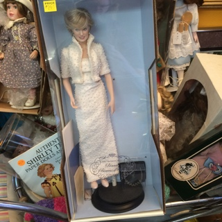 """Franklin Mint Diana Princess of Wales 16"""" Porcelain Doll > FREE SHIPPING!"""