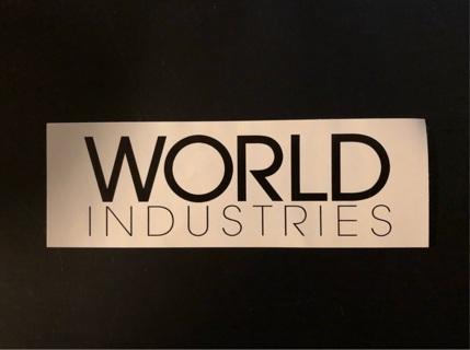 World Industries Sticker
