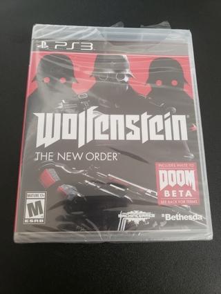 Wolfensein ps3 game