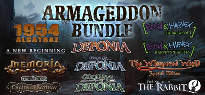The Daedalic Armageddon Bundle steam ROW gift - PC