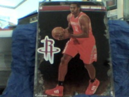2013-14 NBA FATHEAD HOUSTON ROCKETS DWIGHT HOWARD TRADEABLE