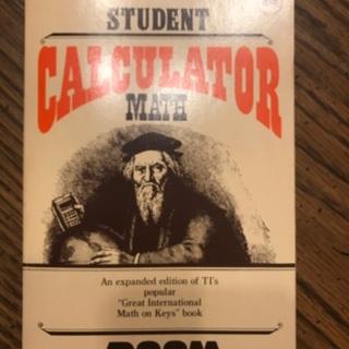 Student Calculator Math Book