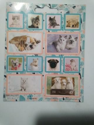 3 Random Full Sticker Sheets