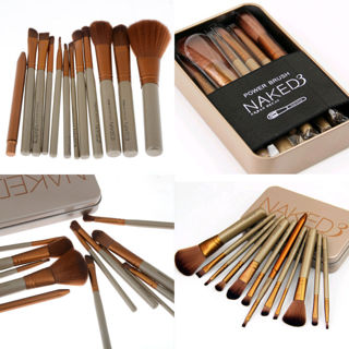 Naked 3 Urban Decay 12 PC Brush Set!