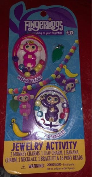 Fingerlings Jewelry Activity (Monkeys)