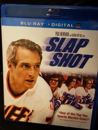 "NWOT - Blu-Ray Movie - ""Slap Shot"" - rated R"