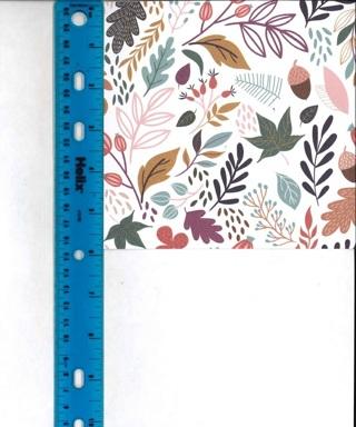 Fall Foliage Scrapbook Paper