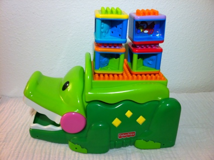 3a8c5f61d78c Free  Fisher Price Bristle Stacking Blocks