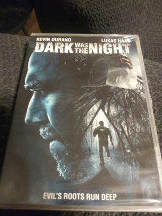 Dark was the Night DVD Factory sealed
