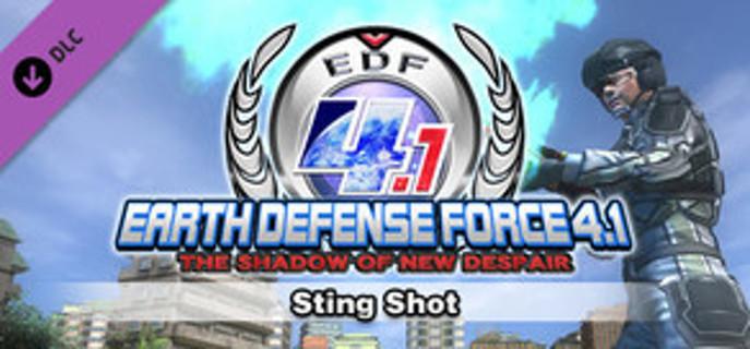 EARTH DEFENSE FORCE 4.1: Sting Shot