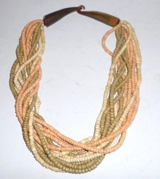 Antique African Bone Necklace