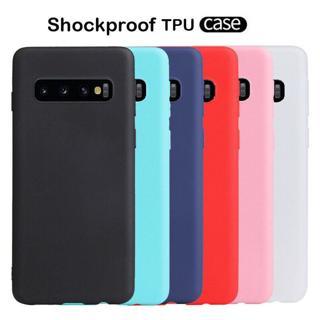 For Samsung Galaxy S10 Plus S10e S9 Slim Soft Silicone Matte TPU Back Case Cover