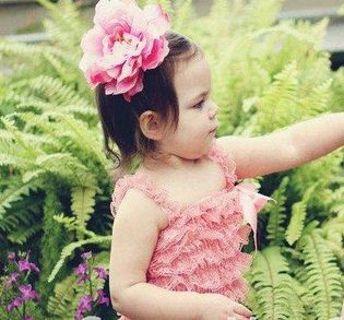 BNWOT Dusty Pink Lace Romper Onesie 2t to 3t