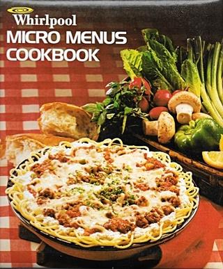 Whirlpool Micro Menus Cookbook - Hardbound