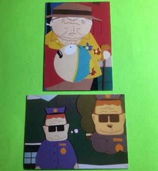 2 South Park 1998 Cards!