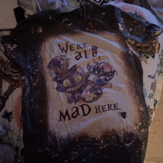 Bleached Mad Hatter Tee