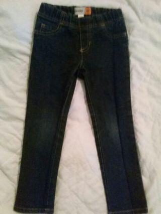 Little girls skinny jeans