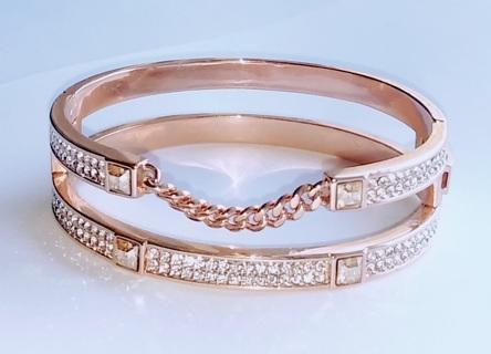 Pave' Bangle Bracelet by Swarovski