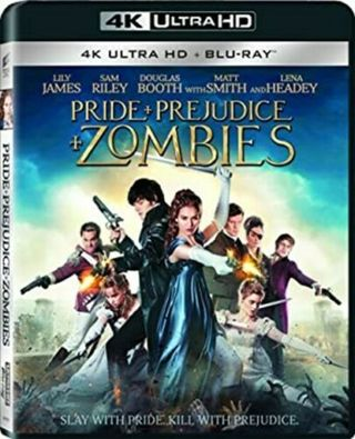 ** Flash Sale ** Pride + Prejudice + Zombies 4K Digital Movie Code MA